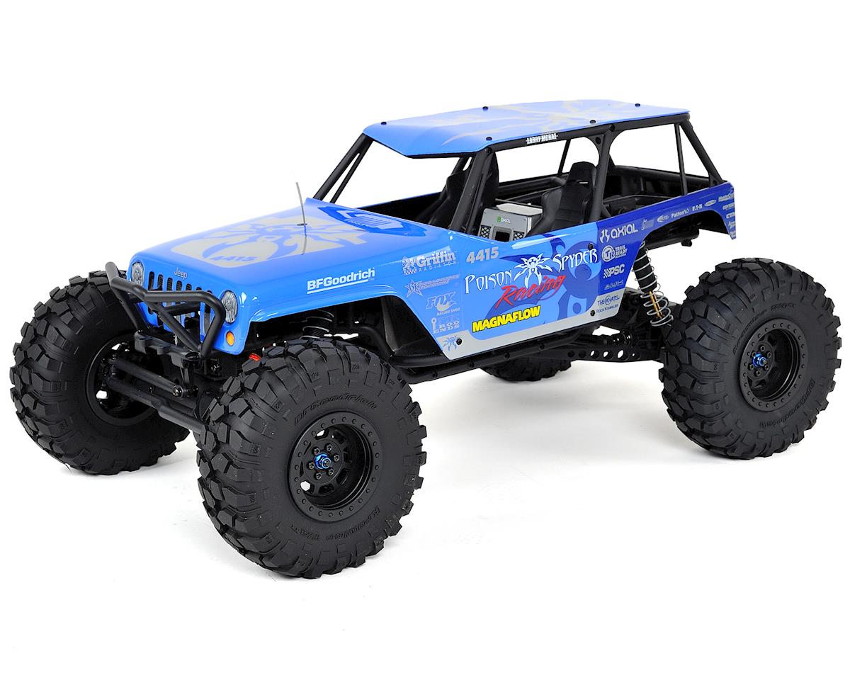 "Wraith ""Jeep Wrangler Poison Spyder"" RTR 4WD Electric Rock Crawler by Axial Racing"
