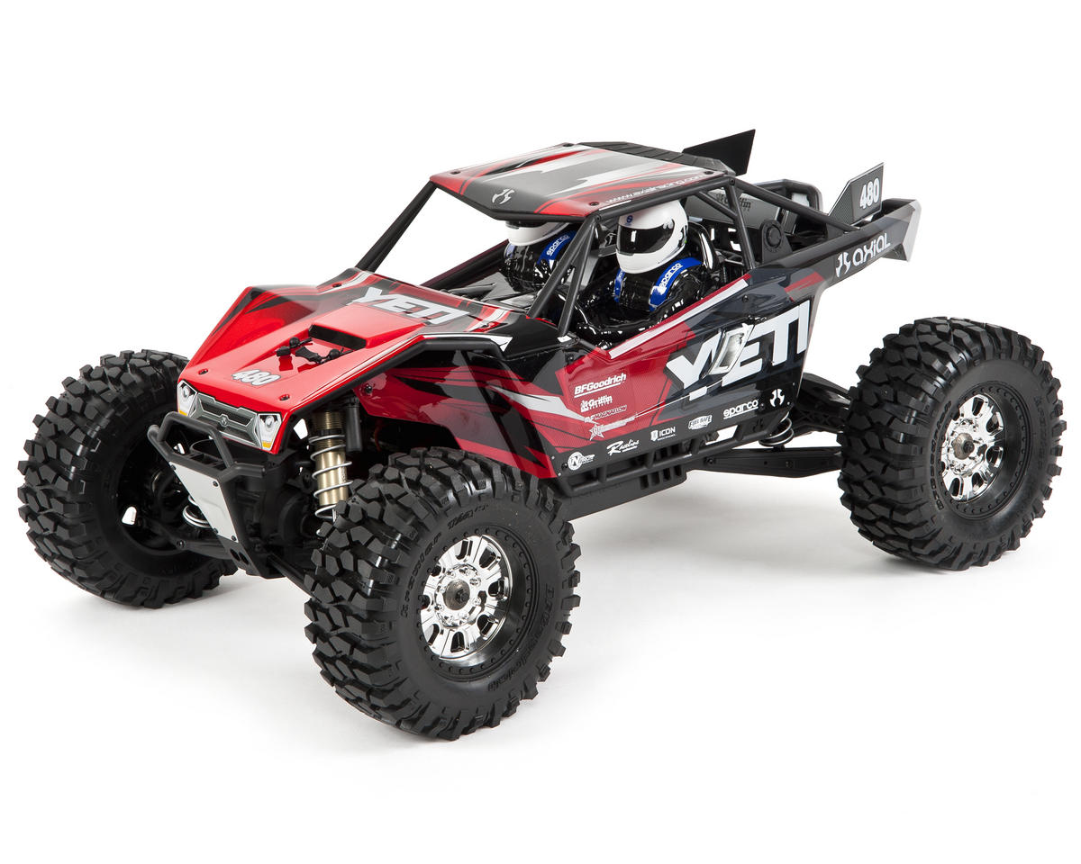 "Axial Racing ""Yeti XL"" 1/8th 4WD Ready-to-Run Electric Monster Buggy"