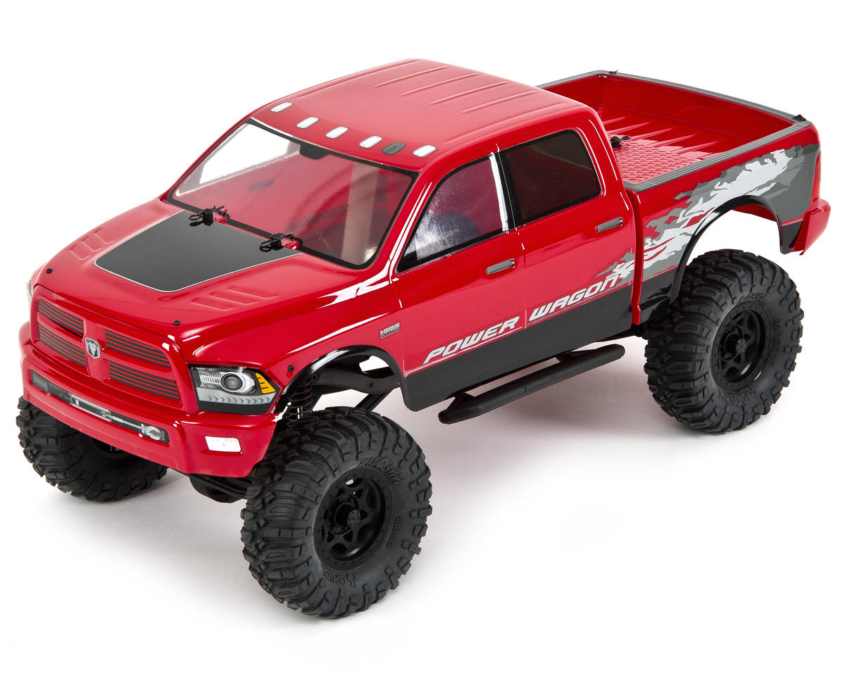 "SCX10 ""Dodge Ram Power Wagon"" RTR 4WD Electric Rock Crawler"