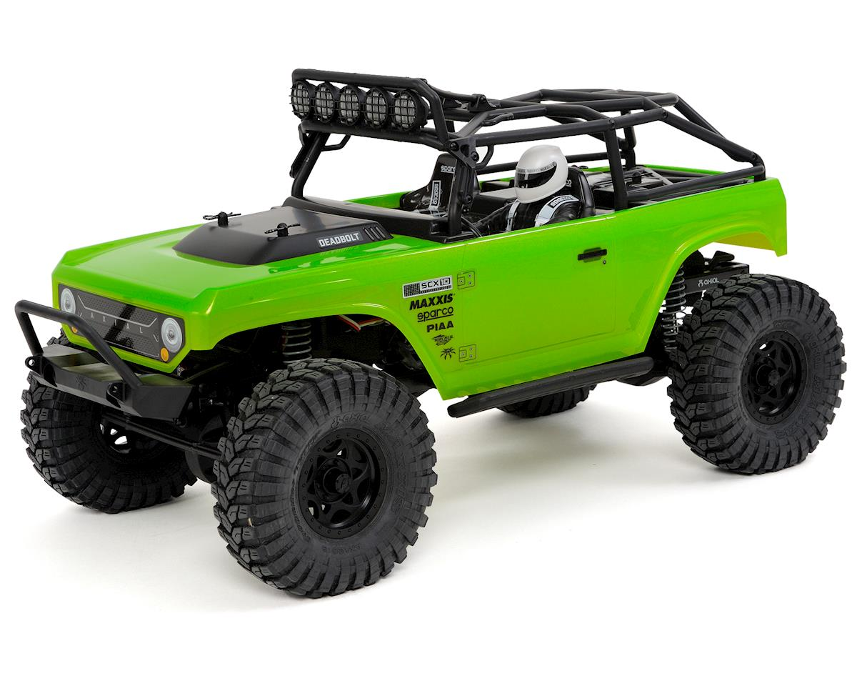 "SCX10 ""Deadbolt"" RTR 4WD Electric Rock Crawler"