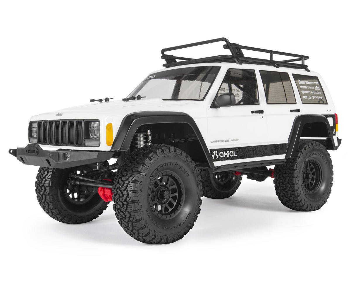 SCX10 II 2000 Jeep Cherokee Rock Crawler Kit by Axial