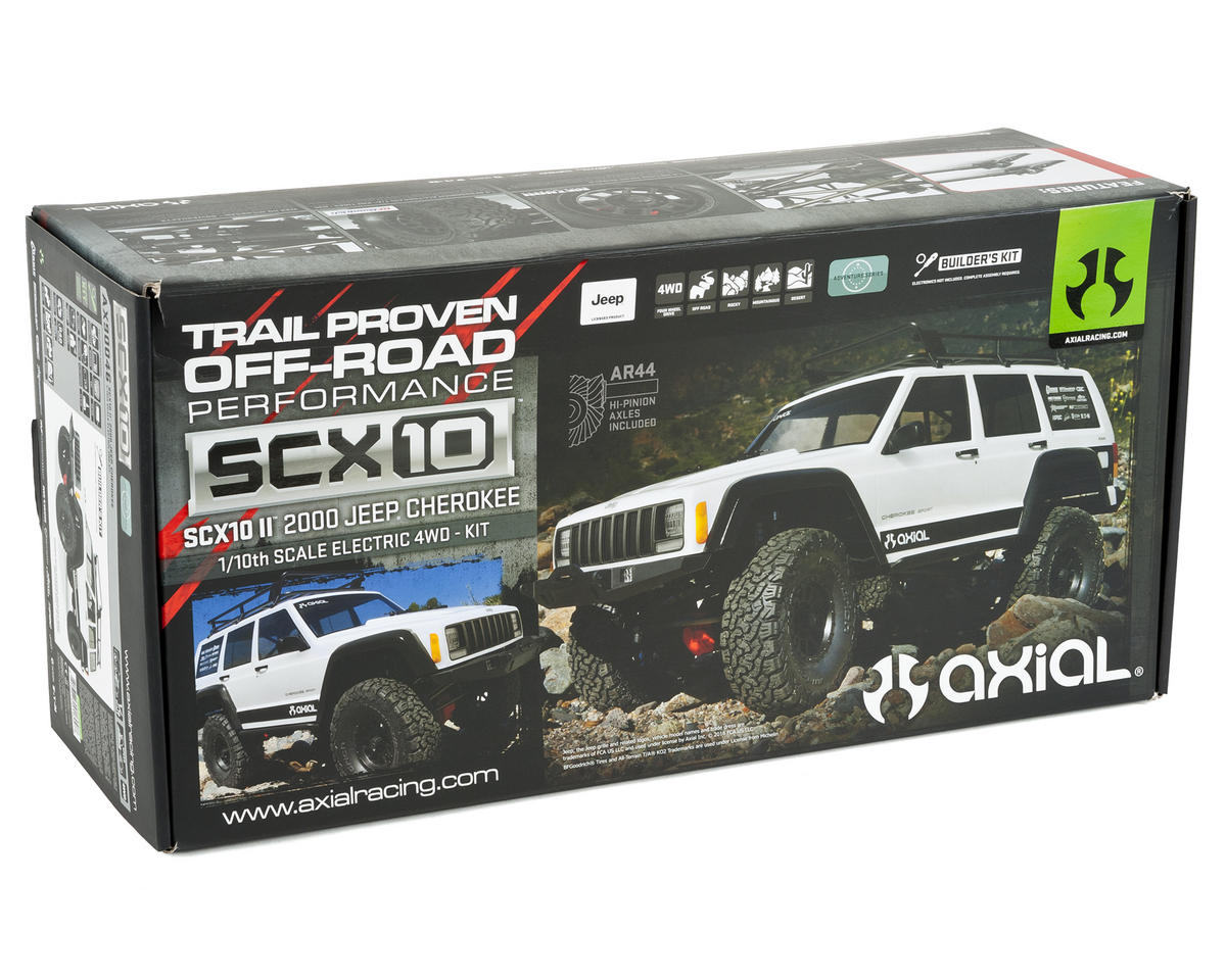 Axial Scx10 Ii 2000 Jeep Cherokee Rock Crawler Kit Axi90046 Sport 4x4 Wiring Schematic Crawlers Amain Hobbies