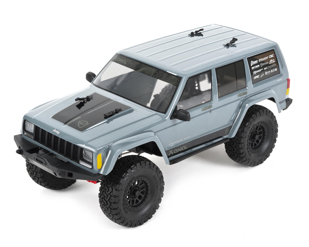 "SCX10 II ""2000 Jeep Cherokee"" RTR 4WD Rock Crawler by Axial Racing"