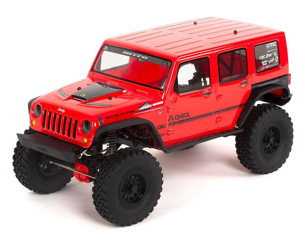 "SCX10 II ""2017 Jeep Wrangler CRC Edition"" RTR 4WD Rock Crawler by Axial"