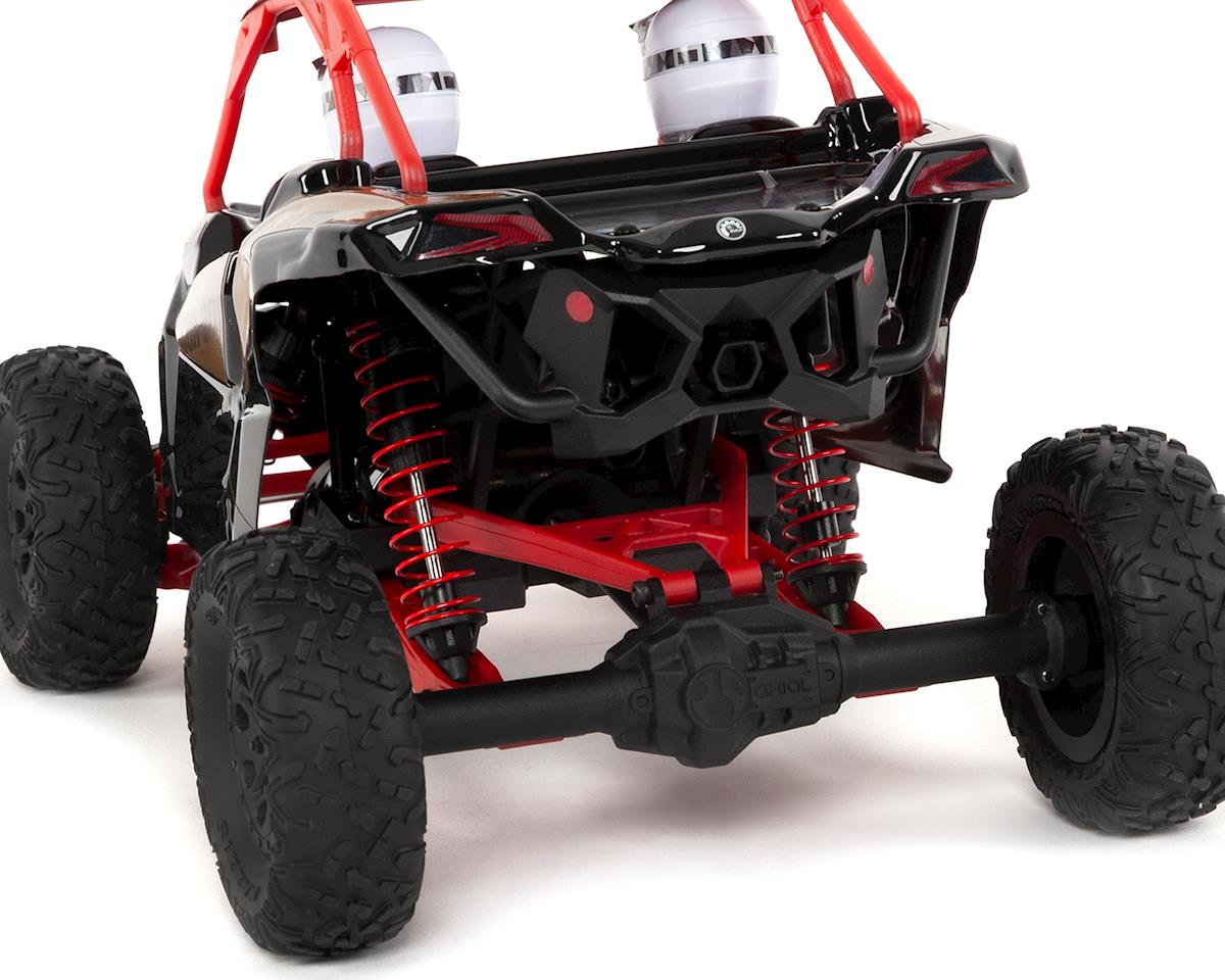 Axial Yeti Jr  Can-Am Maverick X3 1/18 RTR 4WD Electric Rock Racer Buggy  w/2 4GHz Radio, Battery & Charger