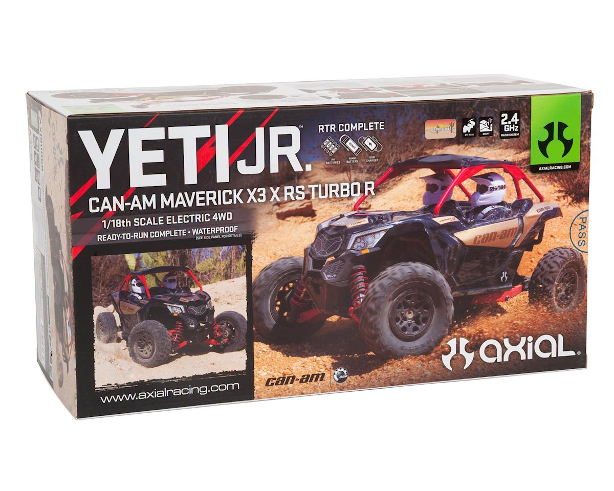 Image 7 for Axial Yeti Jr. Can-Am Maverick X3 1/18 RTR 4WD Electric Rock Racer Buggy