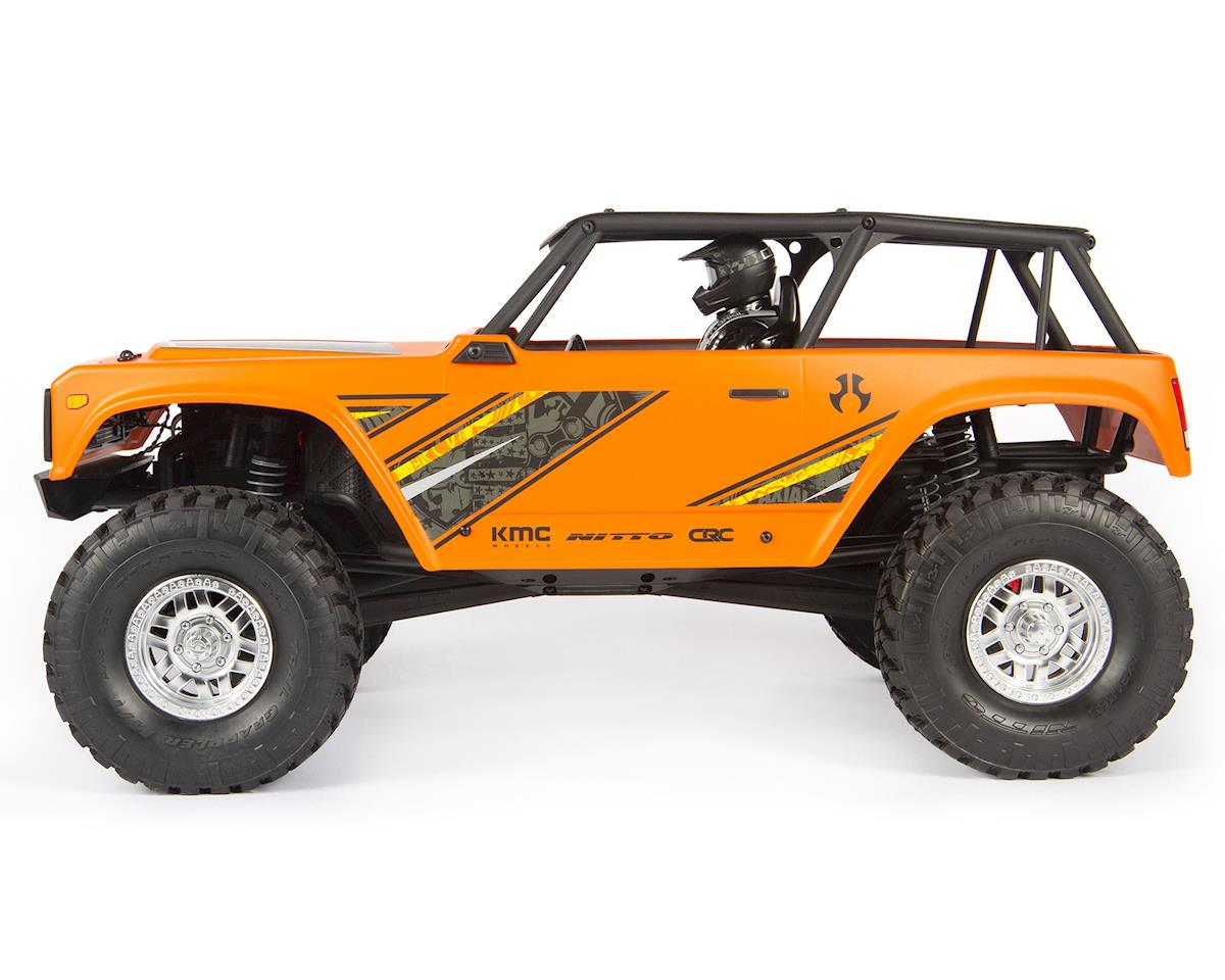 Axial Wraith 1.9 1/10 RTR Scale Electric Rock Crawler (Orange)