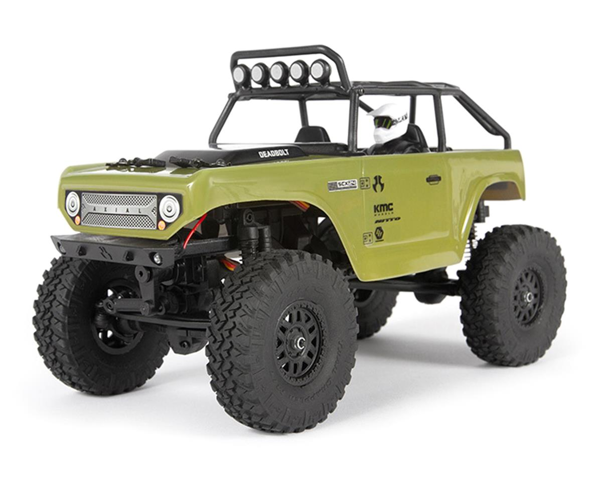 Axial 1/24 SCX24 Deadbolt RTR Scale Mini Crawler (Green)