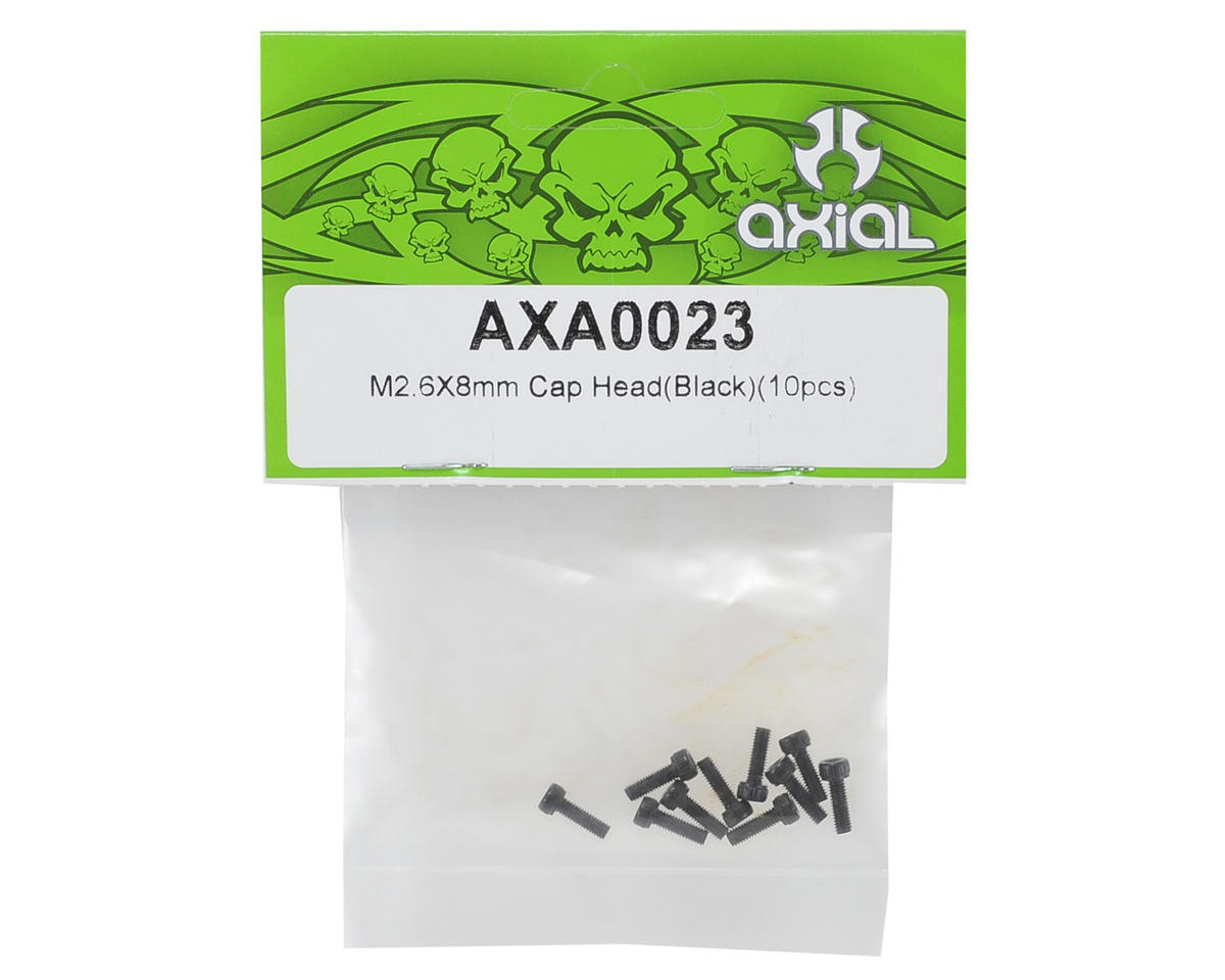Axial 2.6x8mm Cap Head Screw (10)
