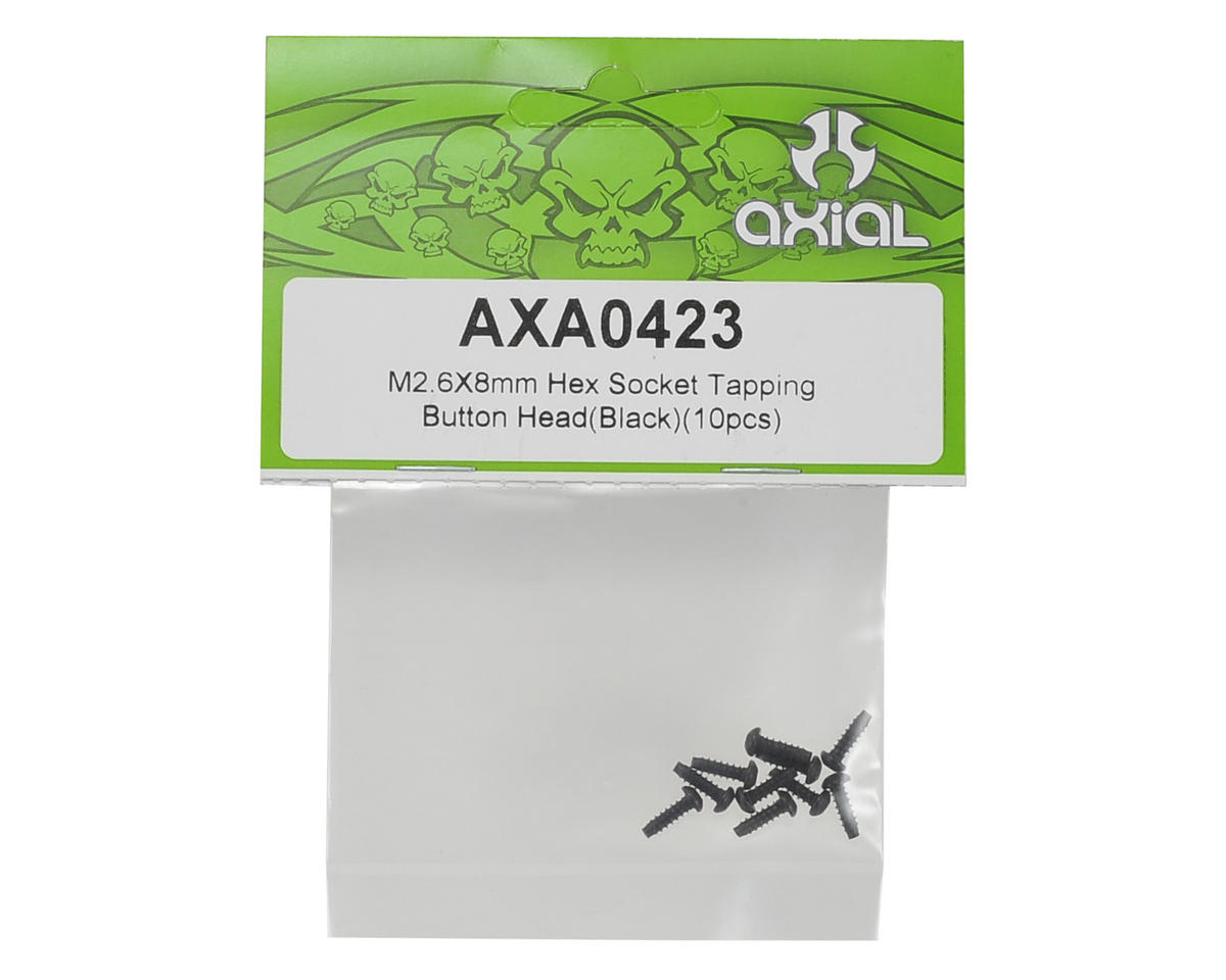Axial 2.6x8mm Self Tapping Button Head Screw (10)