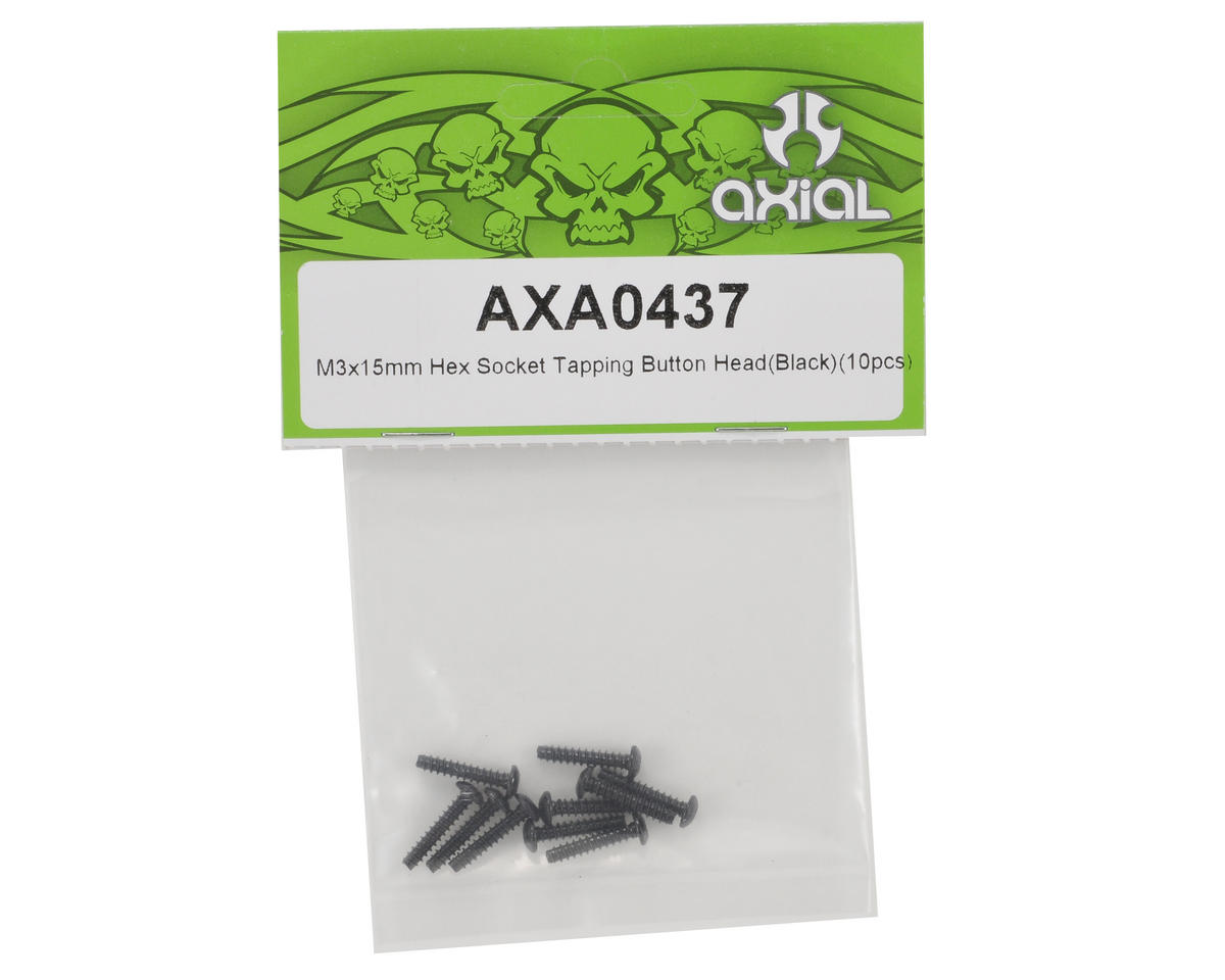 Axial 3x15mm Self Tapping Button Head Screw Set (10)