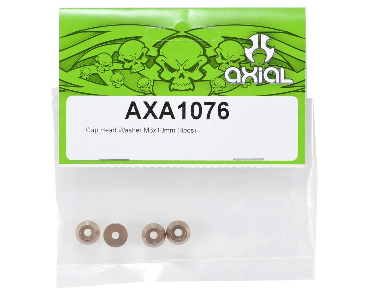 Axial Racing 3x10mm Cap Head Motor Mount Washer Set (4)