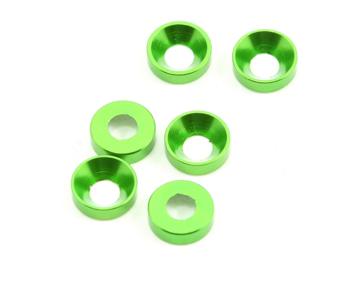 Axial Racing Cone Washer 3x6.9x2mm (6)