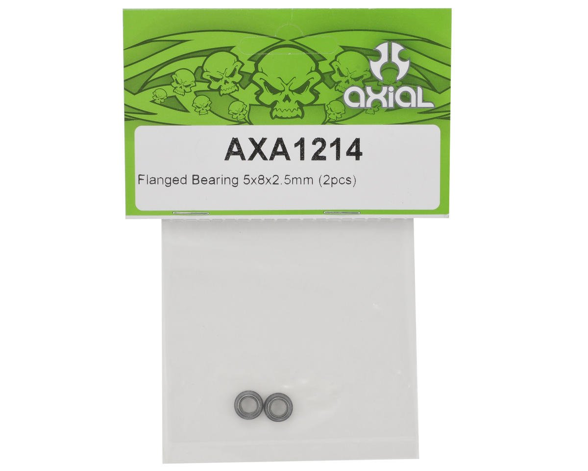 Axial Racing 5x8x2.5mm Flanged Bearing Set (2)