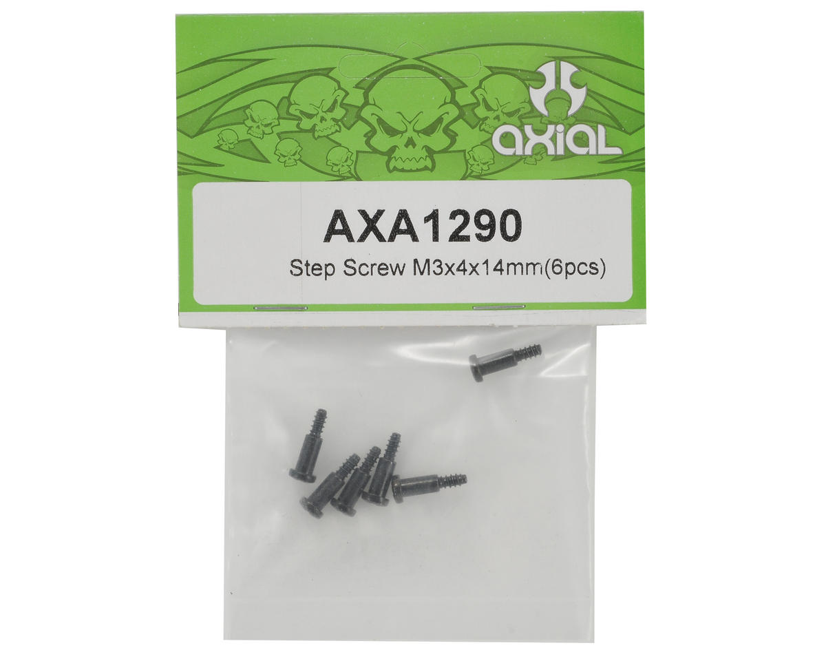 Axial Racing 3x4x14mm Step Screw (6)