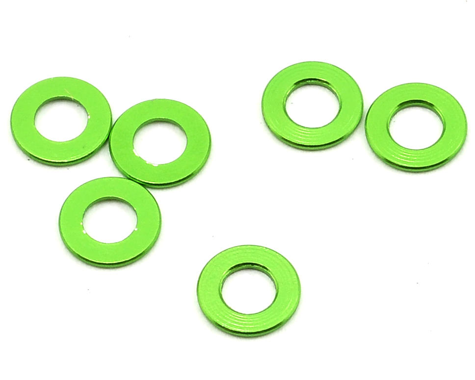Axial 0.5x6mm Spacer (Green) (6)