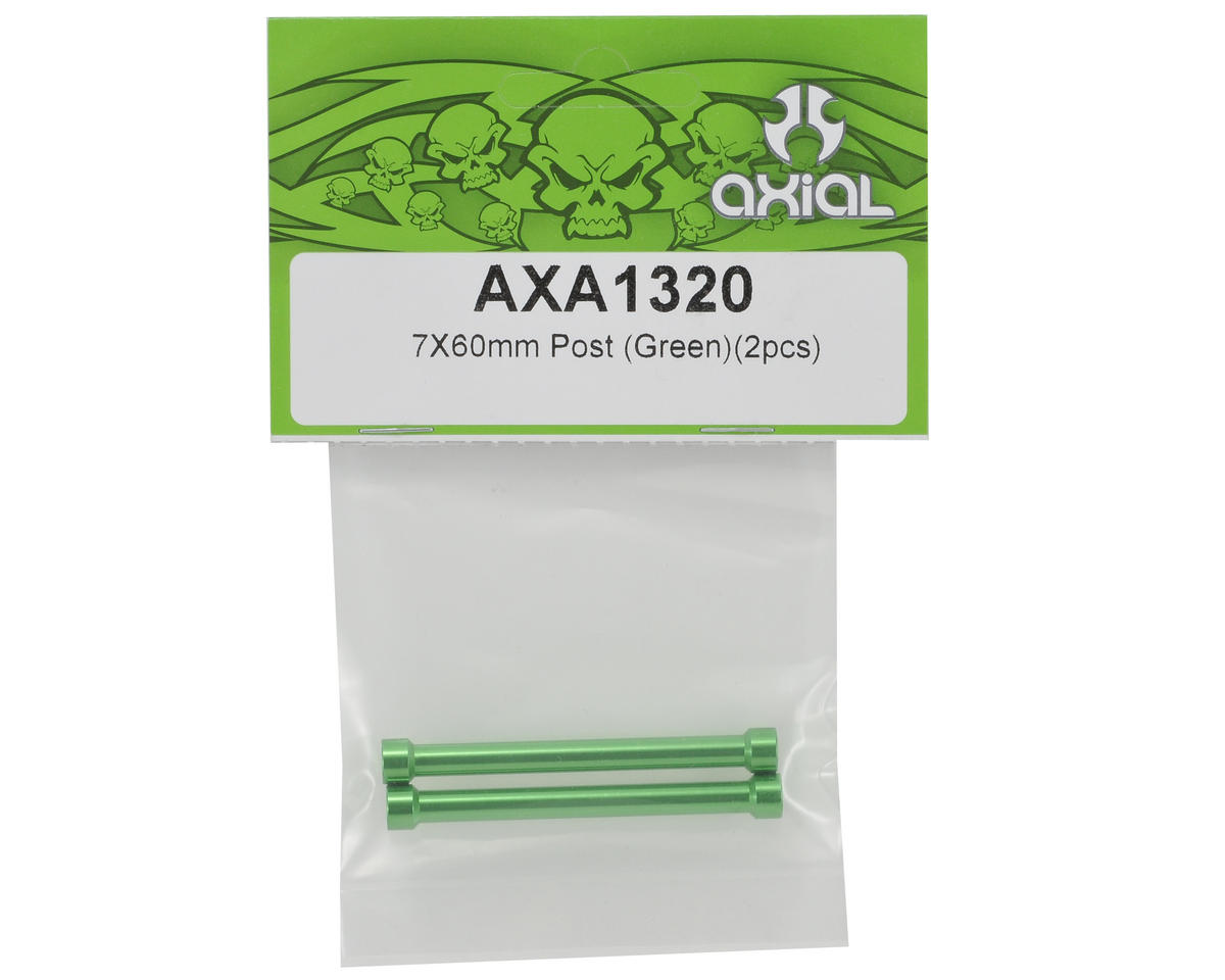 Axial Racing 7x60mm Post (Green) (2)