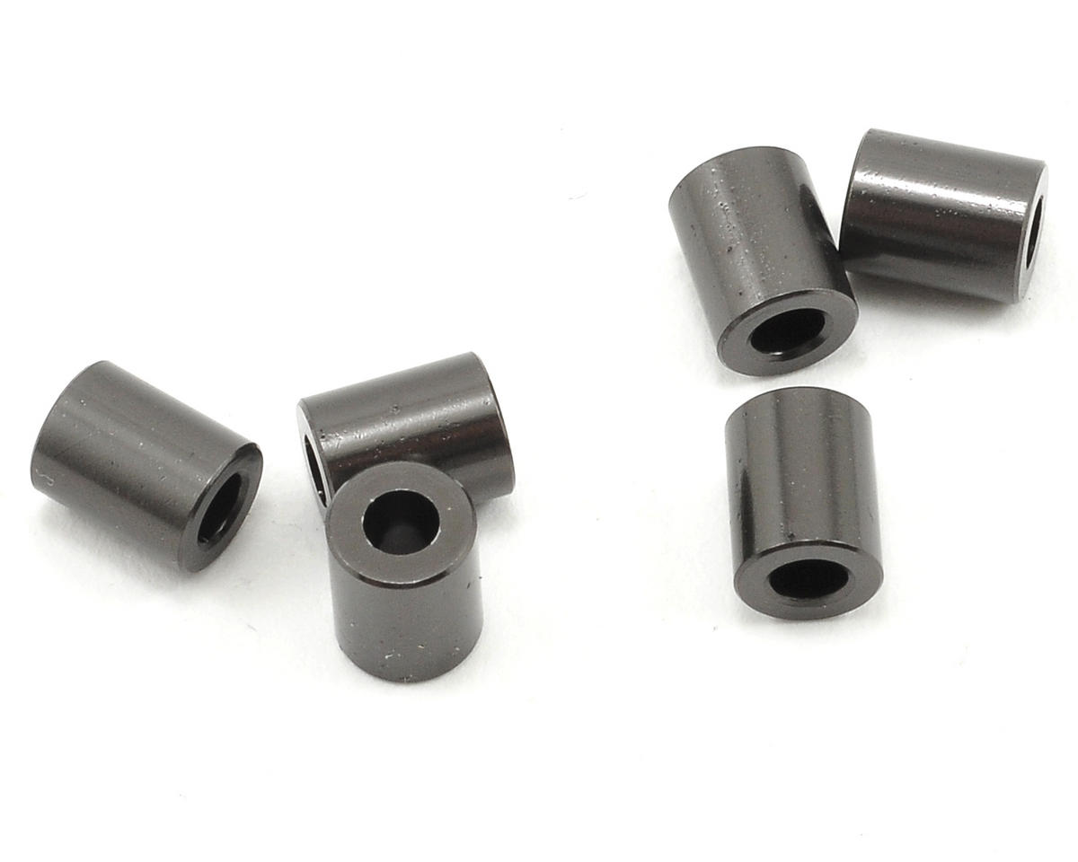 Axial 7.5x6mm Spacer (Grey) (6)
