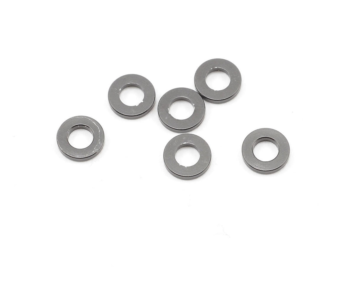 Axial 1x6mm Spacer (Grey) (6)