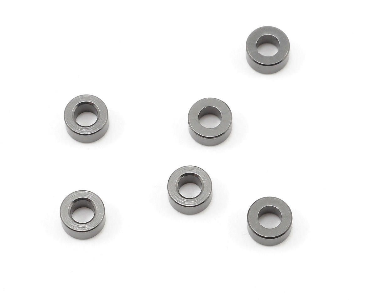 Axial Racing 3x6mm Spacer (Grey) (6)