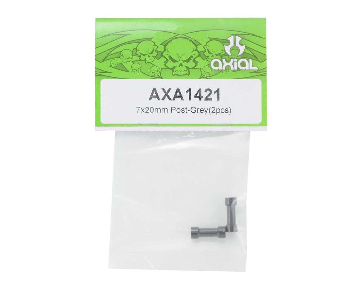 Axial Racing 7x20mm Post (Grey) (2)