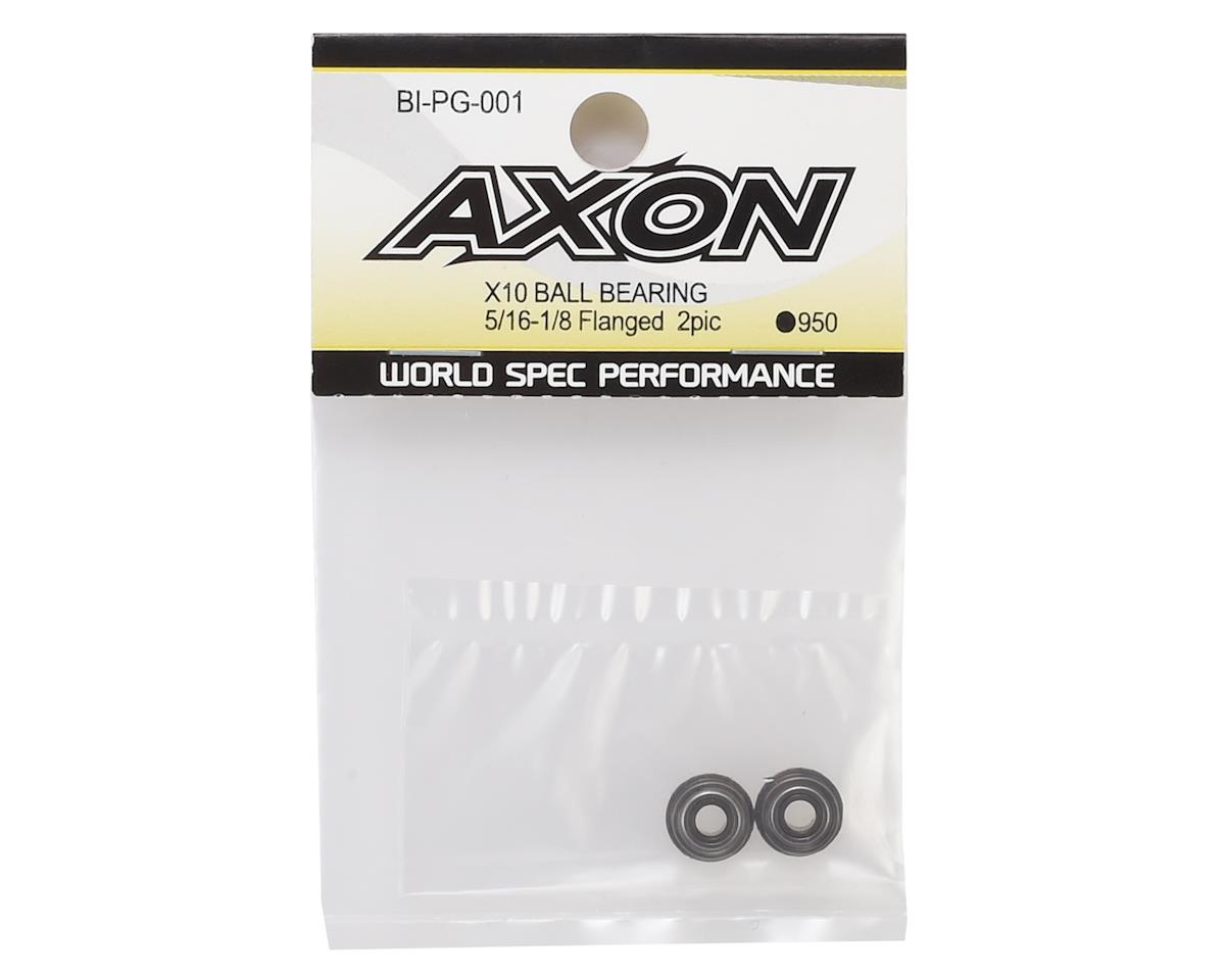"Axon X10 5/16x1/8"" Flanged Ball Bearing (2)"
