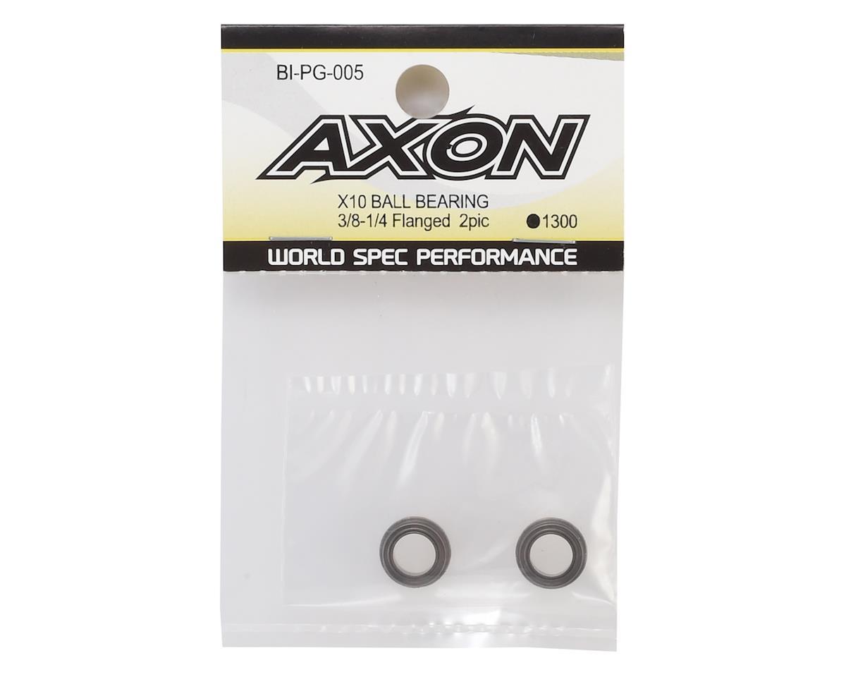"Axon X10 3/8x1/4"" Flanged Ball Bearing (2)"