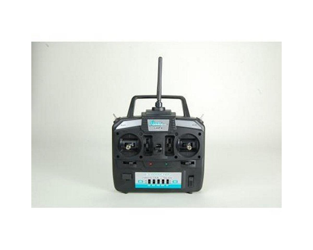 Transmitter 6-Channel HP Airplane 6HPA, Mode 2 (Gamma 370) by Ares Gamma 370