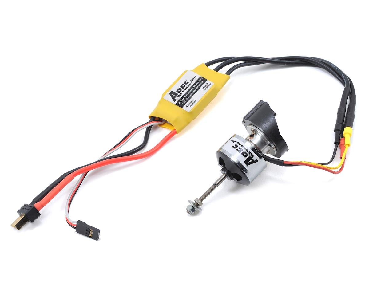 370 Brushless Upgrade Combo w/Motor, Motor Mount & ESC (Gamma 370)