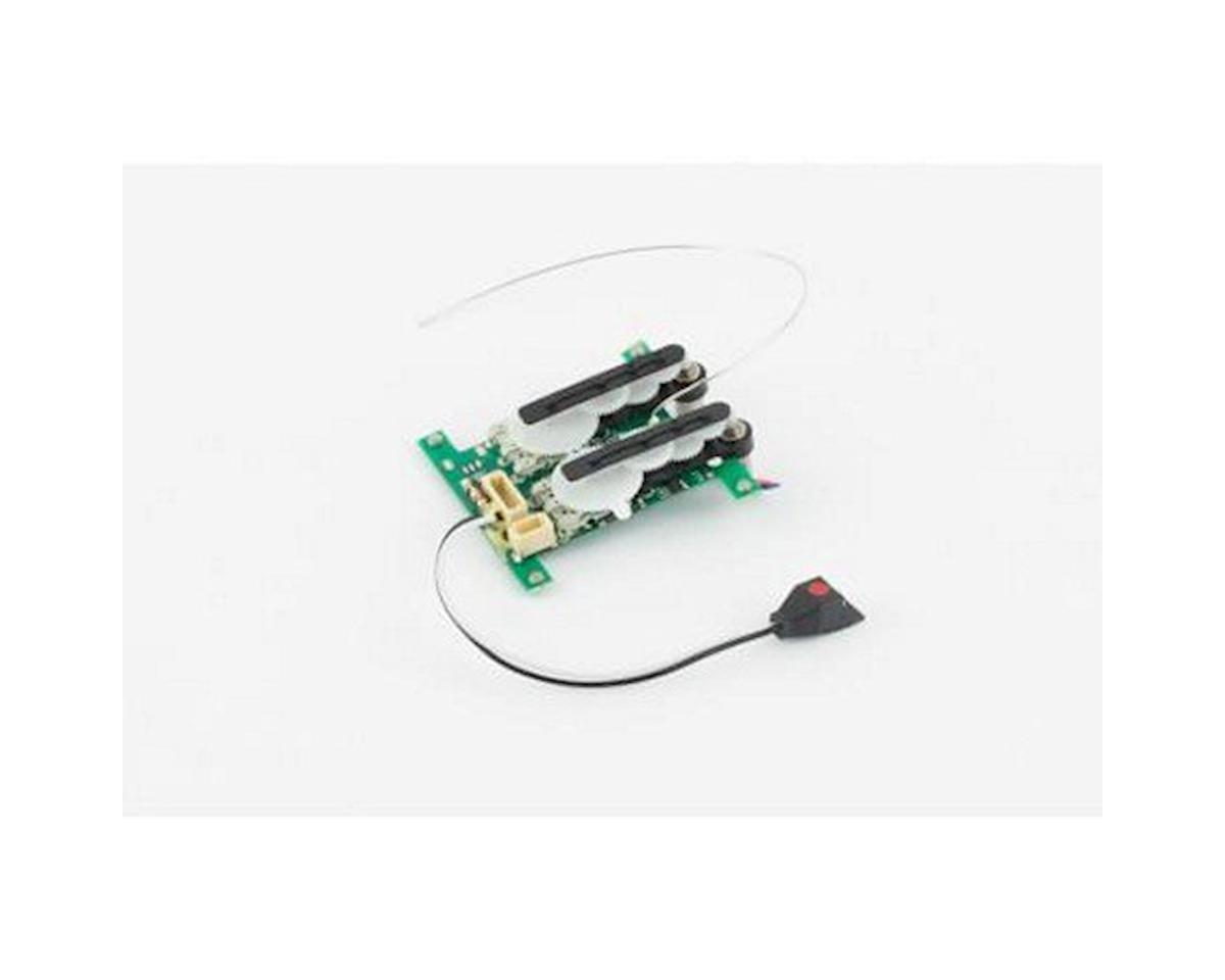 Control Unit 3-in-1, 4-Channel; Rx/2 Sx/ESC (Taylorcraft 130) by Ares