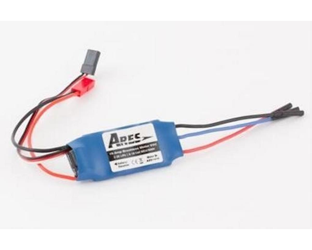 Ares Decathlon 350 Brushless Motor ESC, 15amp, JST Connector (P-51D/ 350)