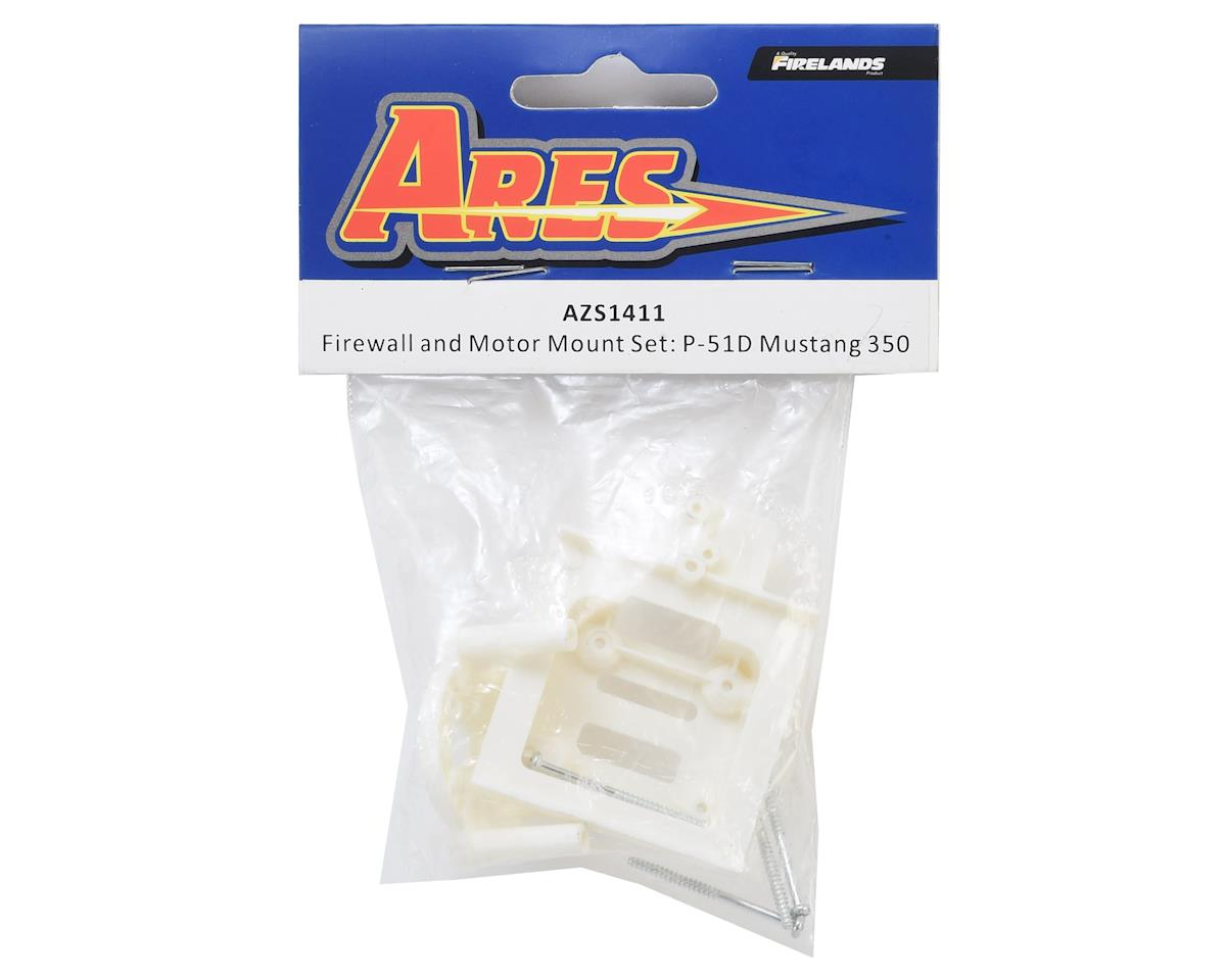 Ares AZS1411  P-51D Mustang 350 Firewall and Motor Mount Set