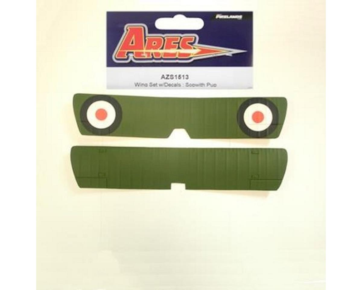 Ares Wing Set with Decals Sopwith Pup