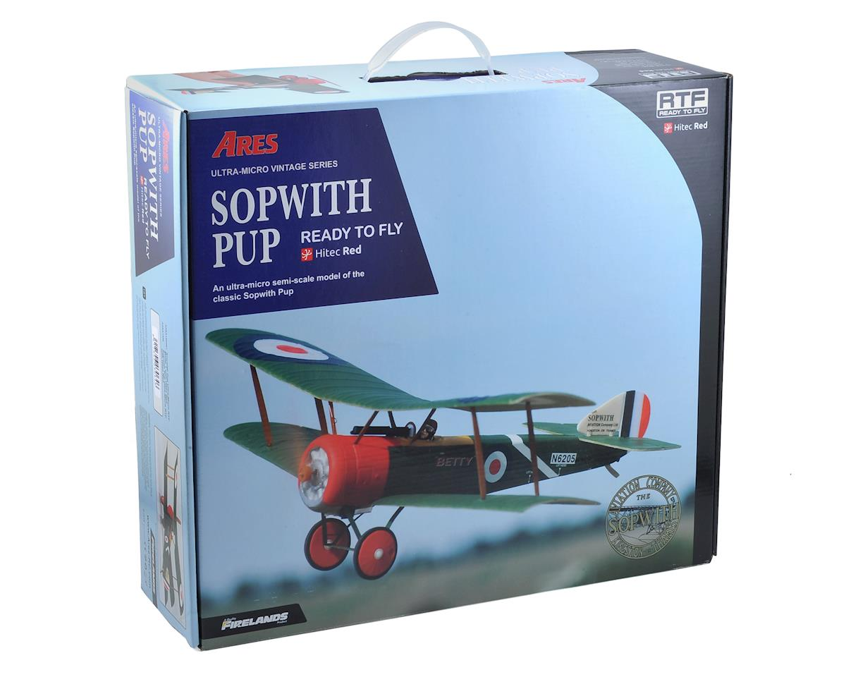 Ares RC Sopwith Pup Ultra-Micro Airplane RTF w/Hitec Red