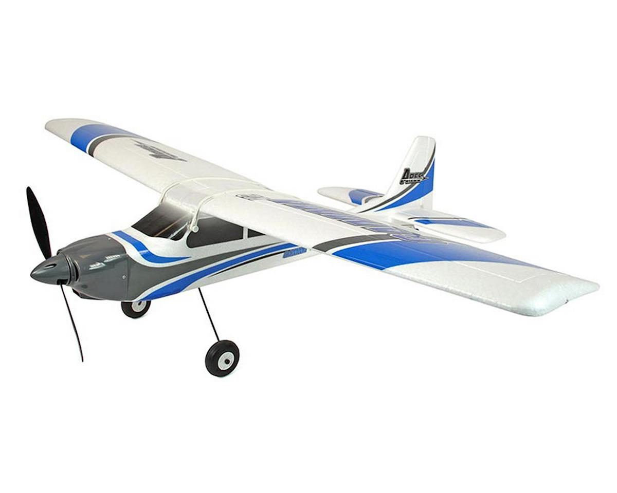 Ares RC Gamma 370 V2 PTF (Pair-To-Fly) Electric Parkflyer Airplane