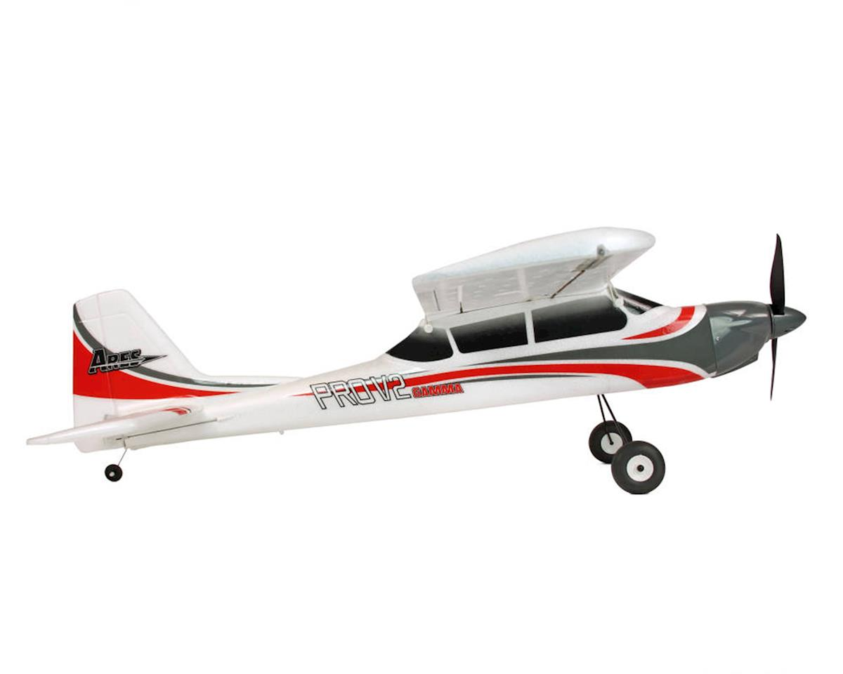 Ares Gamma 370 Pro V2 PTF (Pair-To-Fly) Electric Airplane (Hitec Red)
