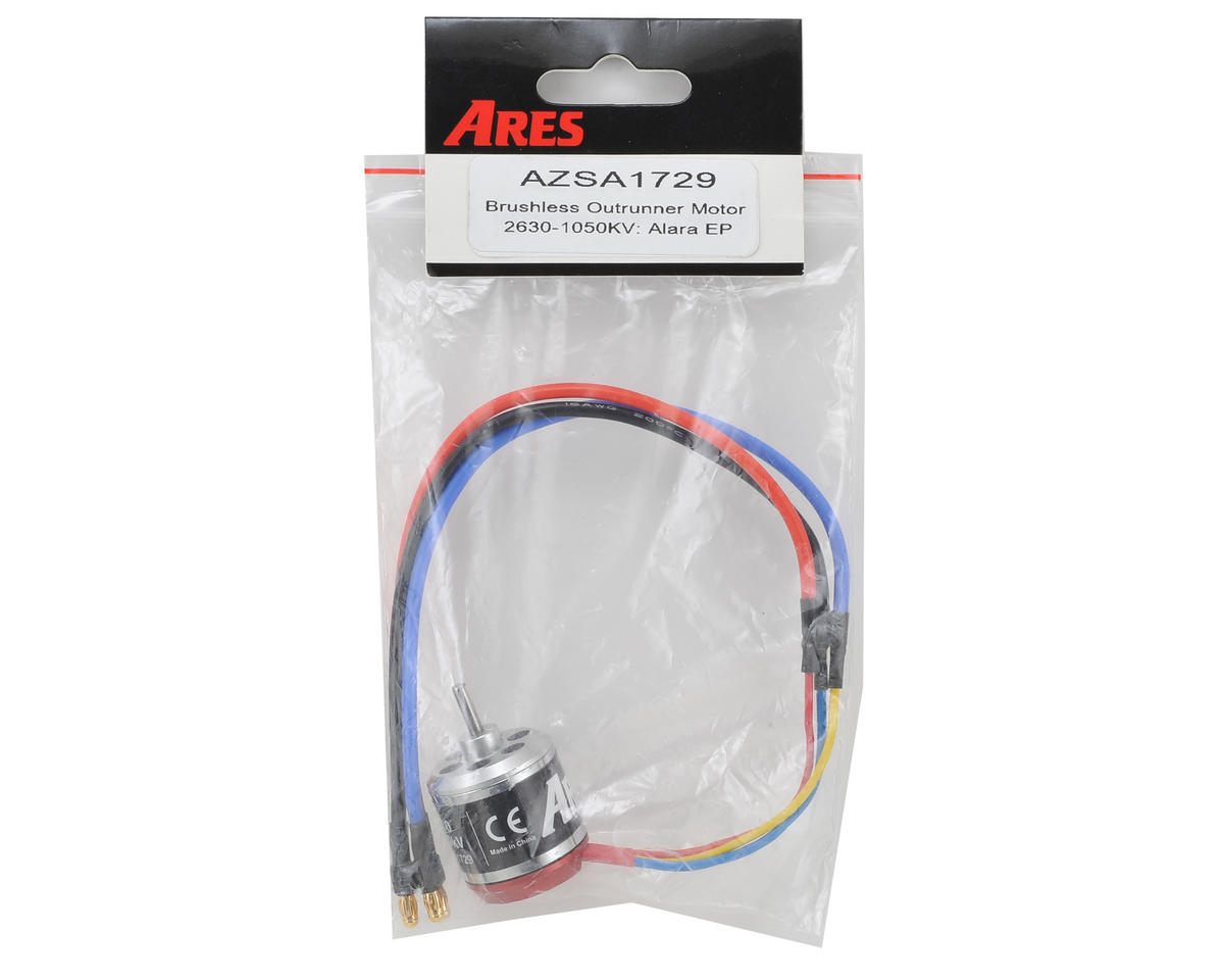 Ares 2630 Brushless Outrunner Motor (1050kV) (Alara EP)