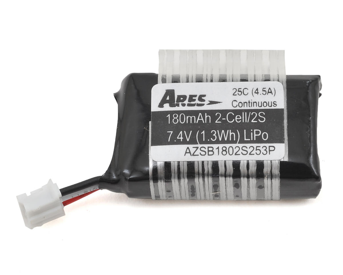 Ares RC 2S 25C LiPo Battery w/3-Pin (7.4V/180mAh) (Taylorcraft 130)
