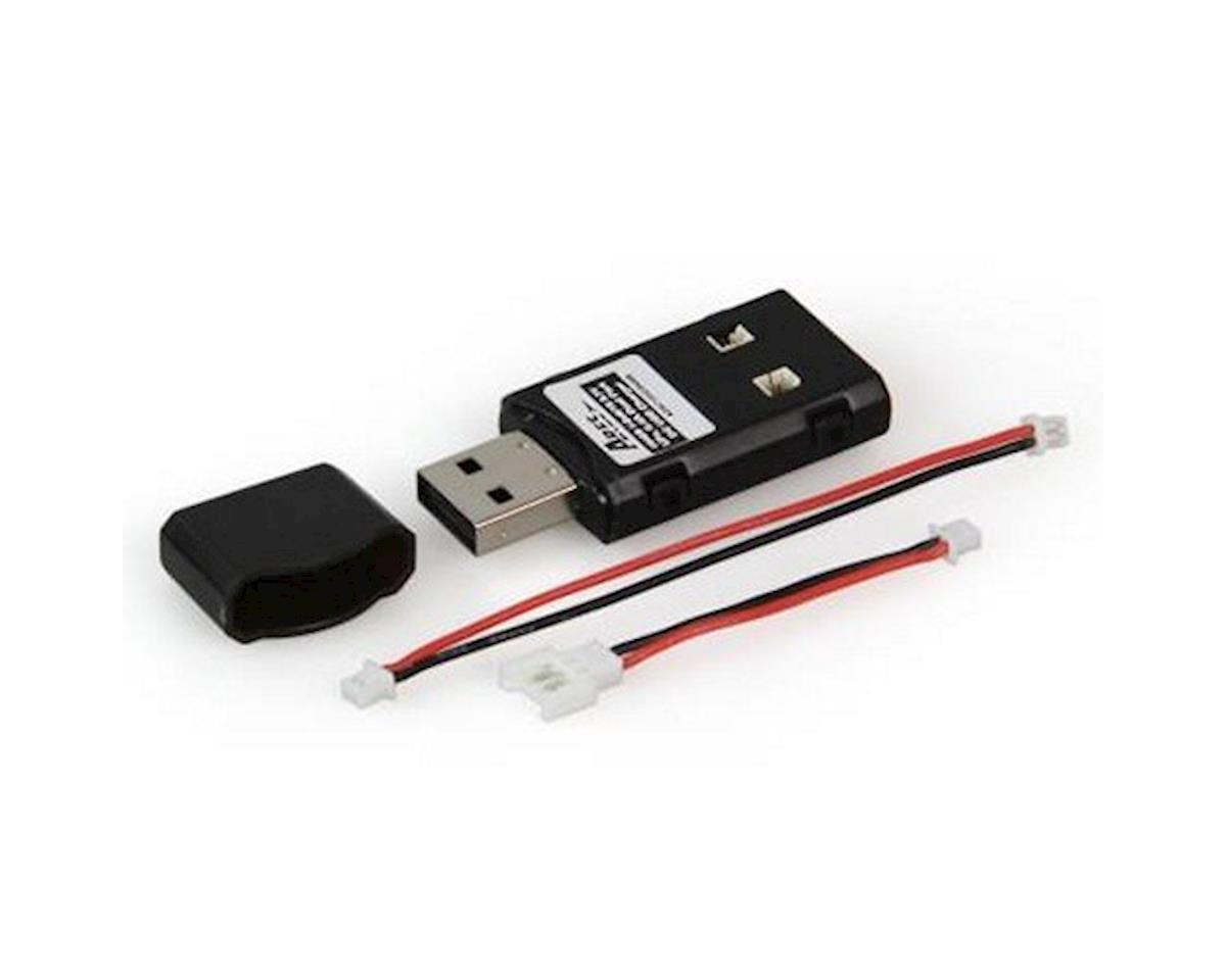 Charger DC 0.4A Dual Port USB, Battery LiPo 104CD 1-Cell / 1S 3.7V, Ultra-Micro Connector (Chronos CX 100) by Ares