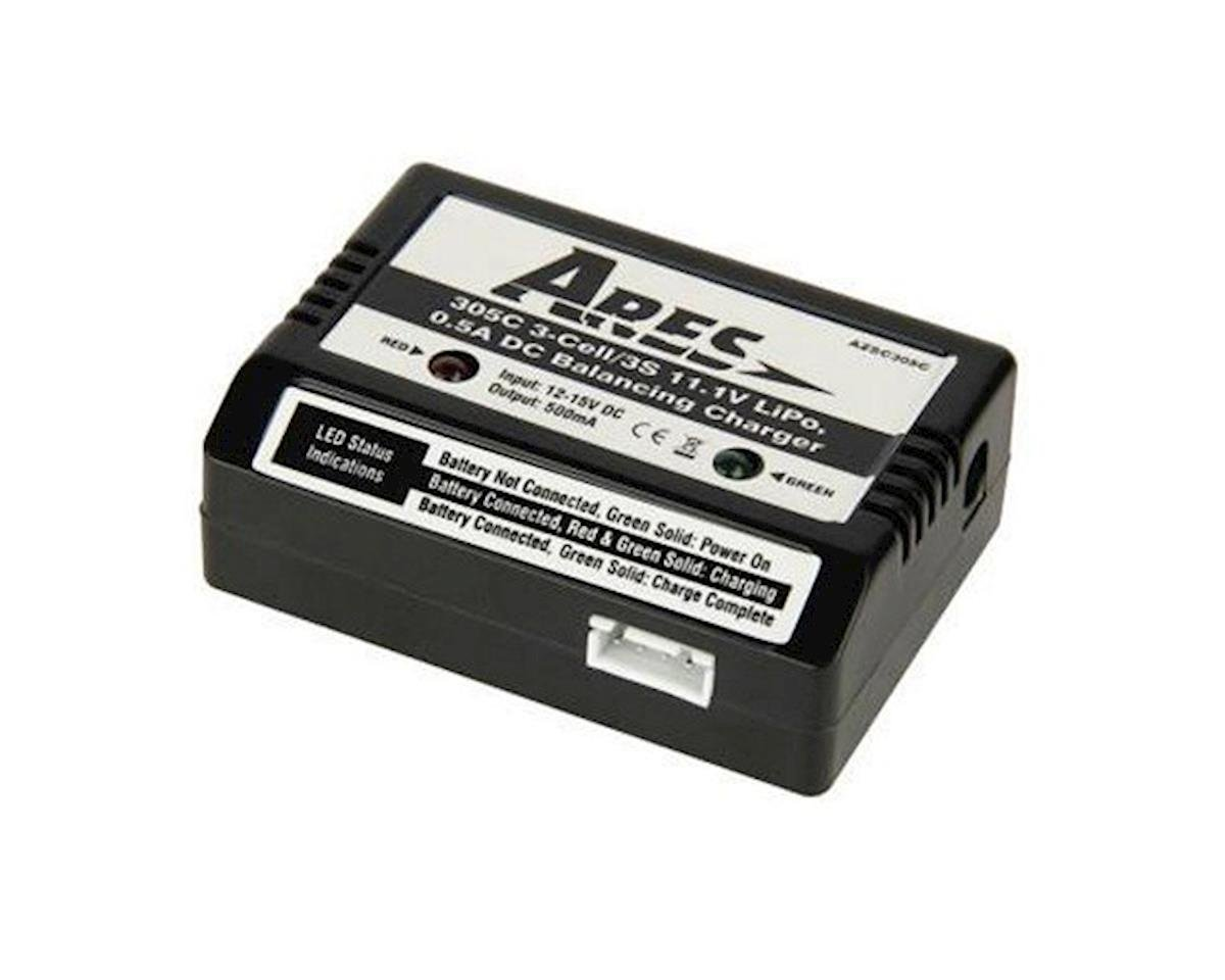 Ares Gamma 370 Charger DC Balancing, Battery LiPo 305C 3-Cell / 3S 11.1V (Gamma Pro, P-51D, Decathlon 350)