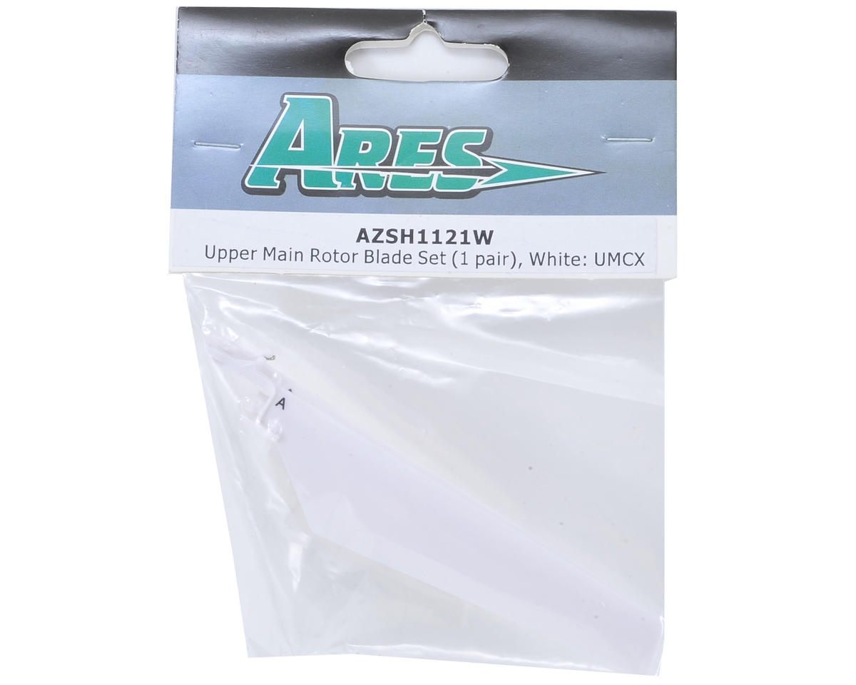 Ares Ultra Micro CX UMCX Main Upper Rotor Blade Set (White)