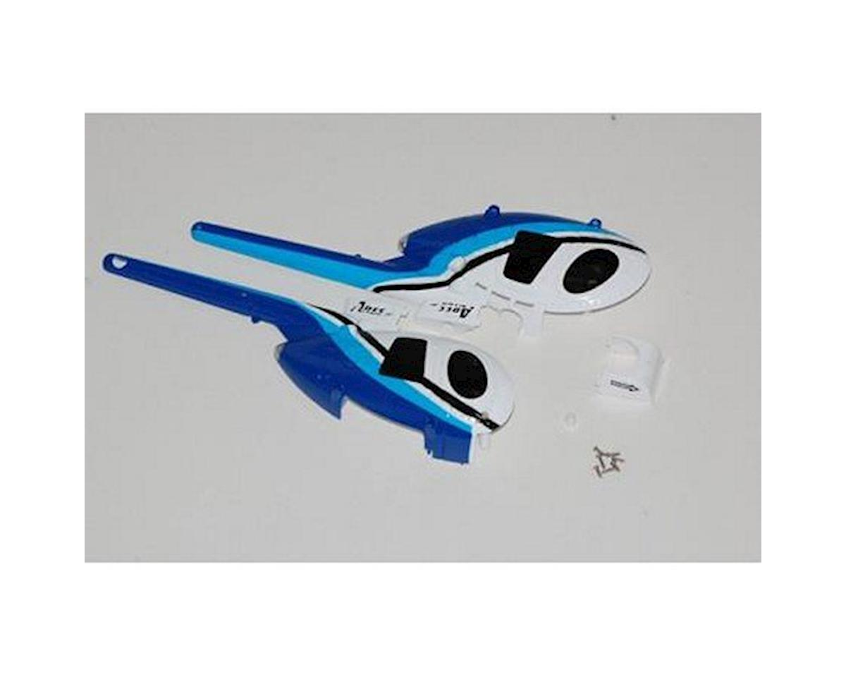 Ares RC Body, Blue, UMCX (MD 500D)