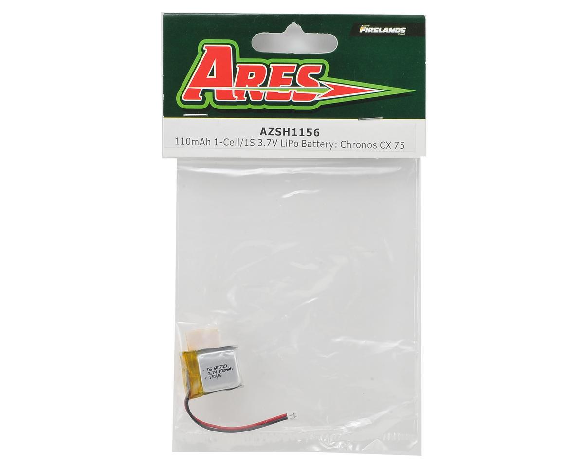 Ares RC 1S Battery LiPo (3.7V/110mAh) (Chronos CX 75)