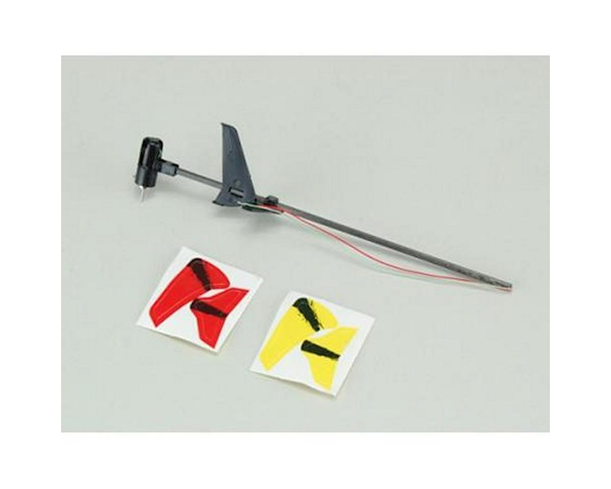 Ares Tail Boom, Fins and Motor Set, (Chronos CX 75)