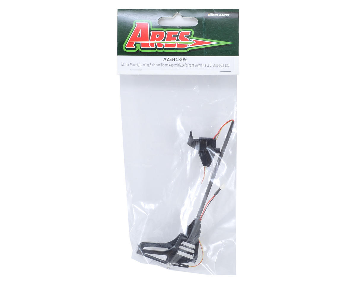 Ares Mount/Landing Skid Assembly w/White LED (Left Front) (Ethos QX 130)