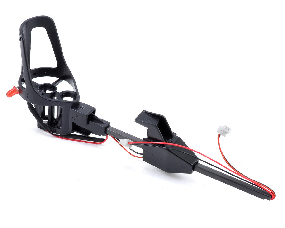 Ares RC Mount/Landing Skid Assembly w/Red LED (Right Rear) (Ethos QX 130)