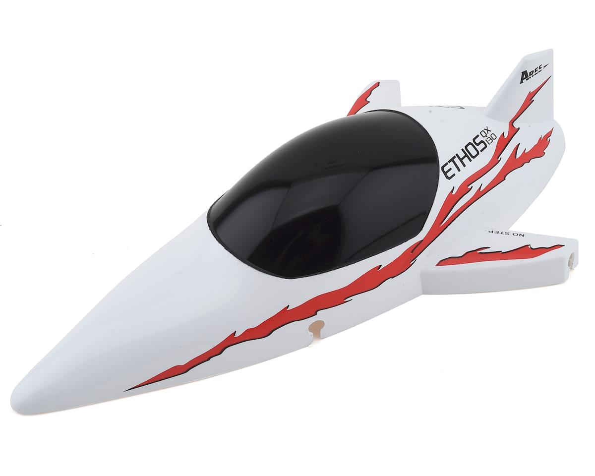 Ares RC Body/Canopy, Red: Ethos QX 130