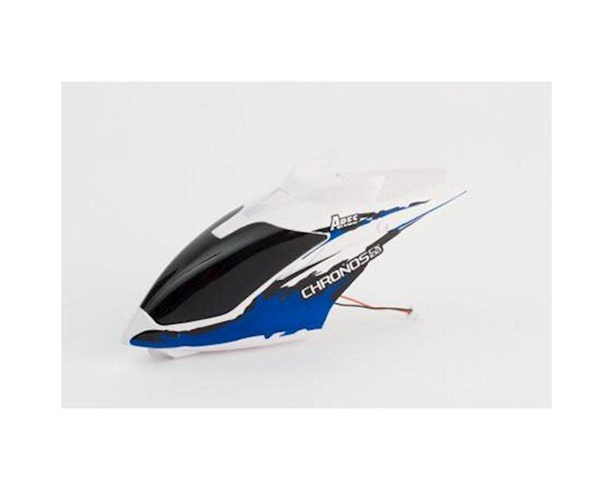 Ares Chronos CX 100 RC Canopy with LED, Blue (Chronos 100)