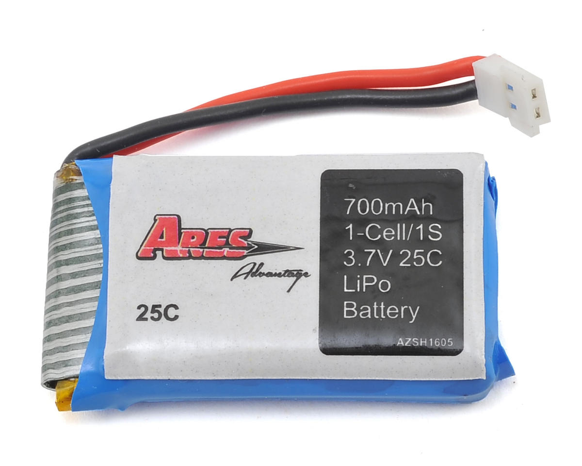 1S 25C LiPo Battery (Spectre X) (3.7V/700mAh) by Ares