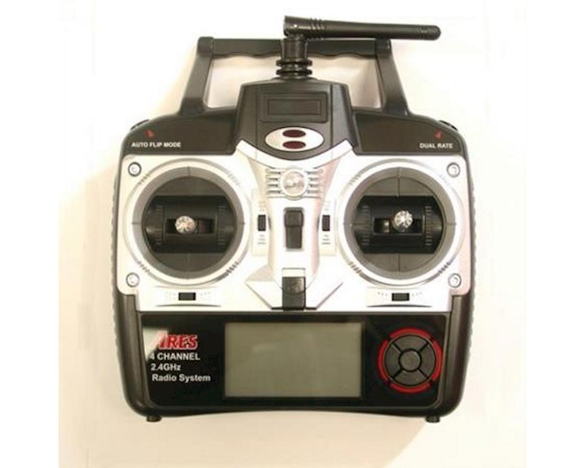 Ares AZSQ1808 2.4GHZ 4CH Transmitter Shadow 240